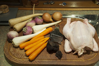 Ingredients for Chicken Pot